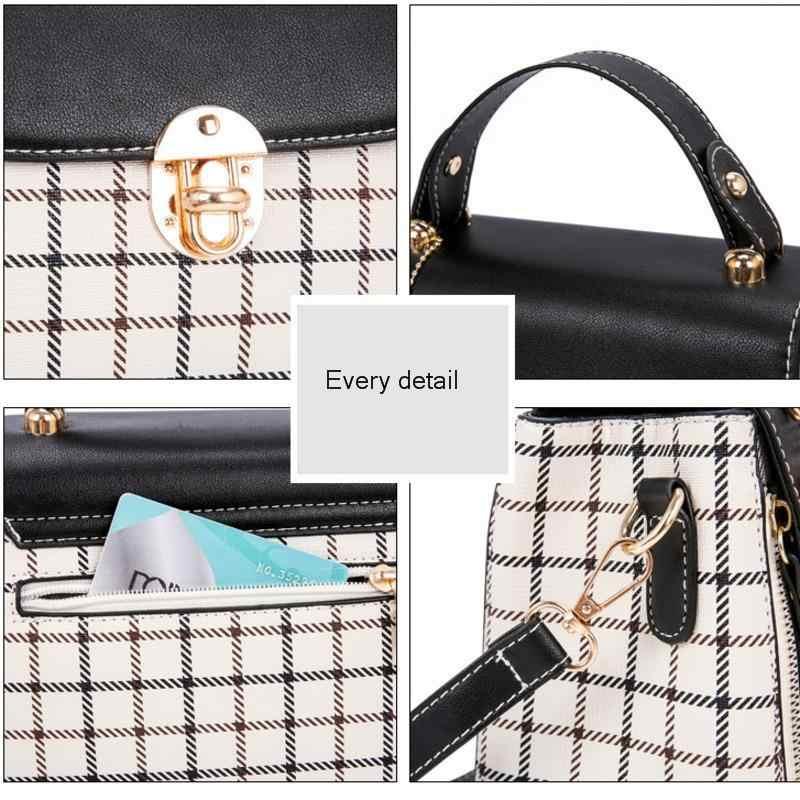 BXX Sac/2019 модные роскошные сумки женские дизайнерские плед маленький медведь сумка Джокер хит цвет диагональ пакет ZE326