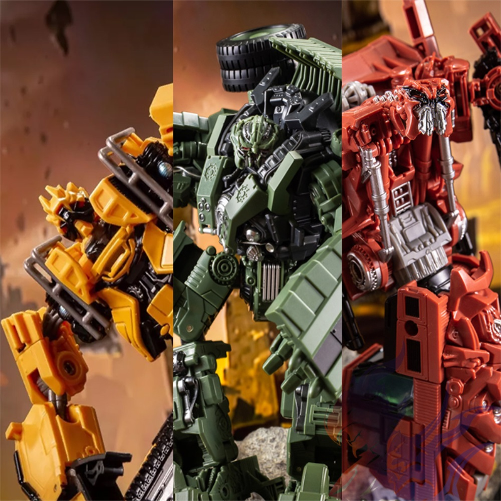 NBK Transformed Yellow Devastator Constructicons Complete Collectible Figures