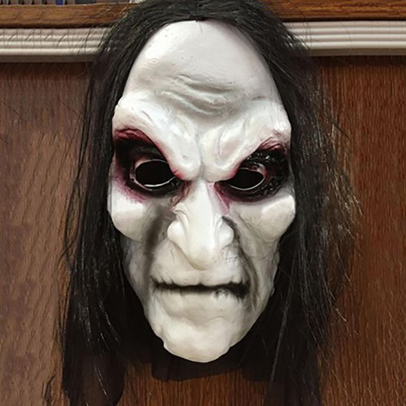 Halloween Masks Cosplay The Grudge Horrible Ghost Mask Hallowmas Party