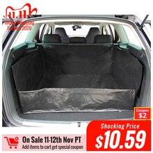 AUTOYOUTH estera de maletero de coche de lona de PE, forro impermeable, manta de protección de coche para una mayor limpieza en su coche