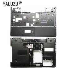 YALUZU Adapté pour Samsung 350V5C 355V5C NP350 NP350V5C NP355V5C 350E5C 355E5C BA75 04092A coque inférieure repose poignets