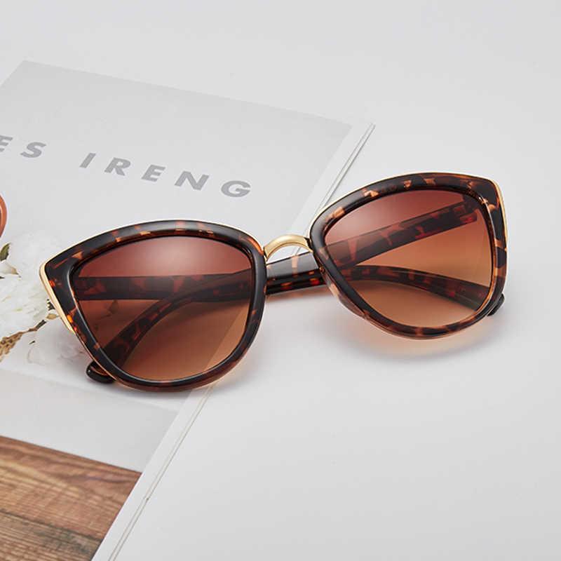 Ретро кошачий глаз солнцезащитные очки модные мужские и женские популярные солнцезащитные очки прозрачные цветные пленки солнцезащитные очки ультрафиолетовая защита