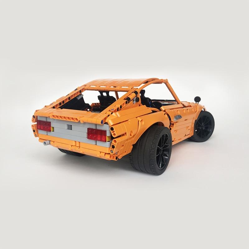 MOC-26511 Moc Technic Series Remote Control 240Z Fairlady Car Diy Building Blocks Bricks Toys For Children Kids Xmas Gifts 1