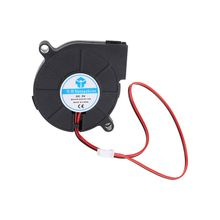 1pc 3D Printer Cooling Fan 5015 50x50x15mm Centrifugal Blower Fan DC 5V 12V 24V 2-Pin Brushless Cooling Cooler Fan 50x15mm turbo fan 3d printer part centrifugal fan dc 12v 24v blow radial cooling fan wire for hot end