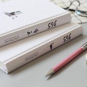 Image 2 - 365 agenda anual agenda planejador colorido página interna ilustração diário plano bala diário diário registro vida papelaria presentes