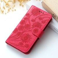 Xiaomi Redmi Note 9 7 8 Pro 9A 7A 9C 8T 6 Red MI 용 가죽 플립 북 케이스 11 참고 10 9T 5 9S Po co X3 NFC M3 F3 4 4X 커버