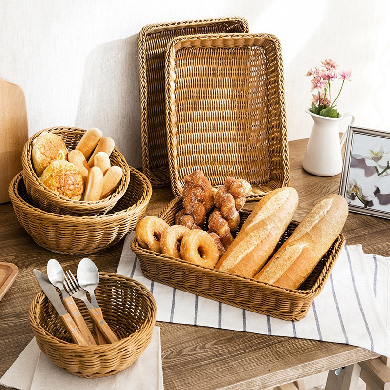 Eco Friendly Rattan Food Storage Tray Eco Friendly Home Baskets » Planet Green Eco-Friendly Shop