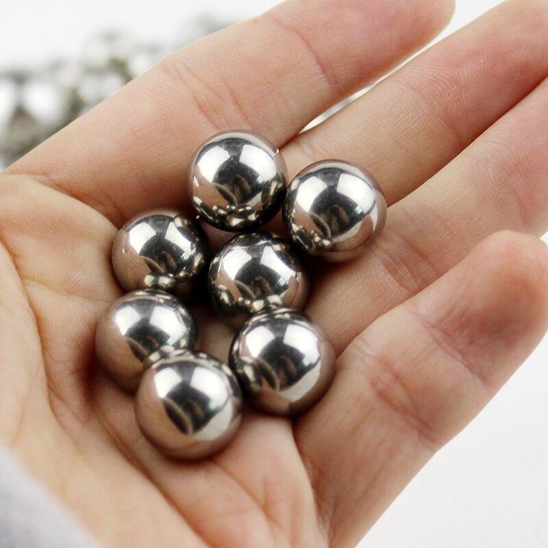 Шаровые шарики 304 из нержавеющей стали, диаметр 12,7 мм, диаметр 1/2 дюйма, Рогатка 12,7 мм, для охоты, 100 шт. title=