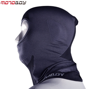 Image 4 - MOTOBOY גרב מסכת אופנוע מגן פנים Windproof רכיבה על אופניים סקי צוואר הגנה חיצוני Moto מלא פנים מסכה