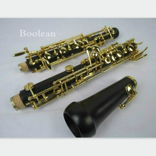 Great Professional ebony concert full-automatic oboe,gold-plating C key