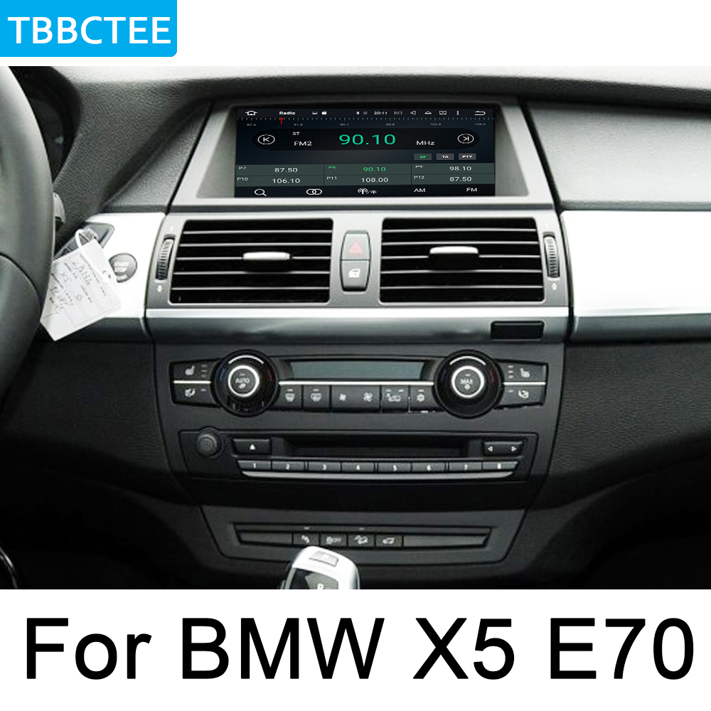 For <font><b>BMW</b></font> <font><b>X5</b></font> <font><b>E70</b></font> 2011-2013 CIC Car multimedia Android Autoradio Car Radio GPS player <font><b>Bluetooth</b></font> WiFi Mirror link Navi Map image