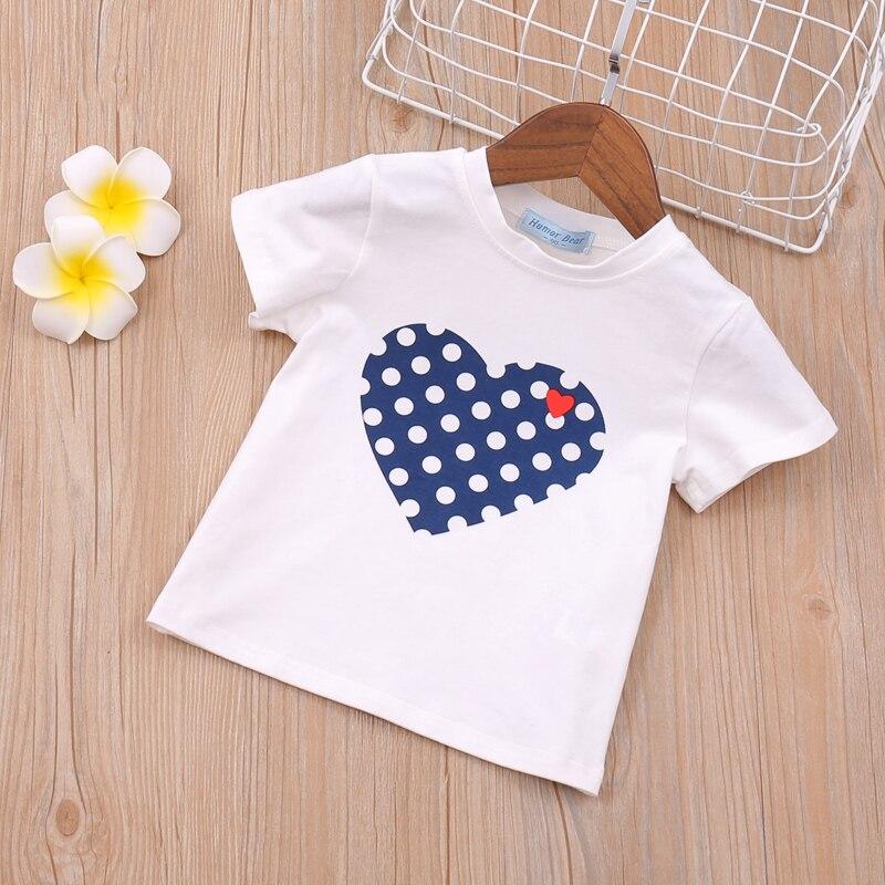 Hbd89d76c8a254a259a7a99fa0288cf02a Humor Bear Girls Clothing Set 2020 Korean Summer New Ice Cream Bow T-shirt+Pants Kids Suit Toddler Baby Children's Clothes