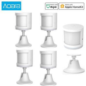 Image 1 - Aqara Human Body Sensor Smart Body Movement Motion Sensor Zigbee Connection holder stand Mi home App homekit via Android&IOS