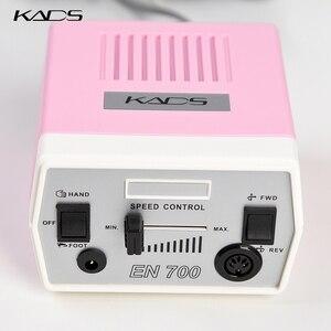 Image 5 - KADS perceuse à ongles 30000 tr/min, outils de manucure et pédicure, appareil électrique avec poignée, ensemble de mèches, 4 couleurs au choix