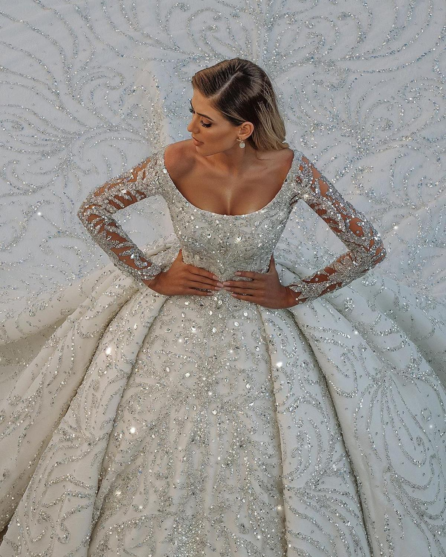 Vestidos de novia хит продаж Роскошные бальные свадебные платья