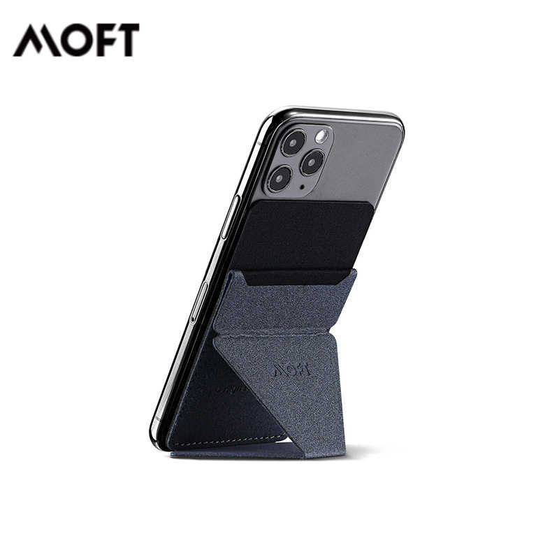 Magnetic Modern Sky 04-Universe Yellow Adjustable Viewing Angles Card Holder MOFT Reusable Adhesive 4-in-1 Phone Stand Thin Design with Grip to be Held