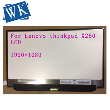 """IPS Matrix for Laptop 12.5"""" LED LCD Screen N125HCE-GN1 For Lenovo thinkpad X260 00NY418 FHD 1920X1080 Slim Recplacement"""