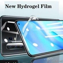 Cobertura completa filme de hidrogel para vivo y20i y20 y51 y51s y50 y30i 2020 protetor de tela película protetora para vivo y70s 2020 não vidro