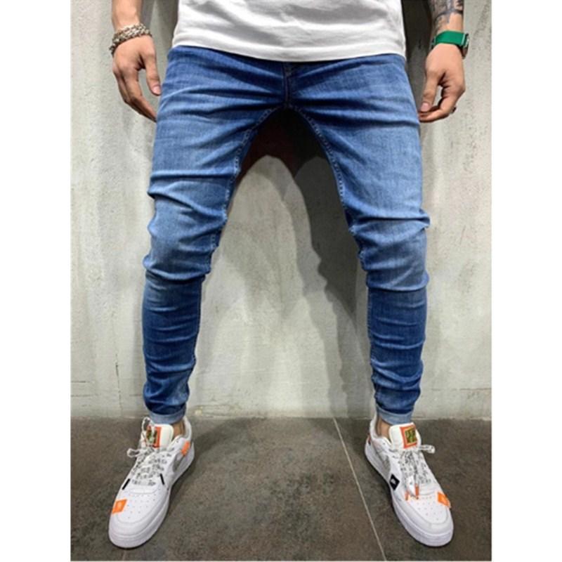 Jeans Men European And American Men Casual Sports Pants Jeans Men