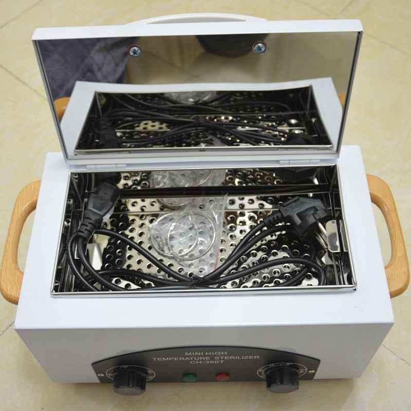 טמפרטורה גבוהה חיטוי קבינט נייל אמנות סלון מעקר תיבת נייד יופי כלים חיטוי מכונה
