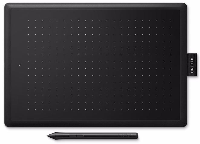 Графический планшет Wacom One Small CTL-472 (Black/Red)