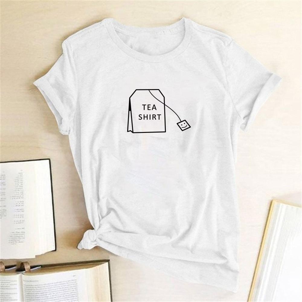 Hohe Qualität Gedruckt Humor Tee Shirt Mode Nette Harajuku Ulzzang Tumblr Kawaii Femme Tumblr Grafik T Hemd O Neck Tees tops