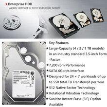 TOSHIBA 4TB Enterprise Class Hard Drive Disk