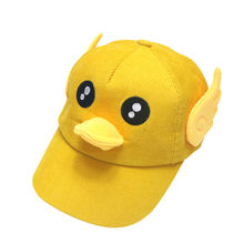 Baby Boy Hats Soft Cotton Audio Sunhat Eaves Baseball Cap Sun Hat Beret newborn photography props winter hat for kids(China)