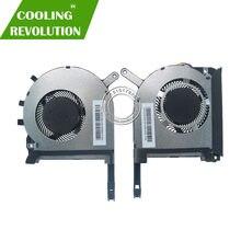 Novo original portátil/processador portátil processador portátil cpu gpu ventilador de refrigeração para asus strix tuf 6 fx505 fx505g fx505ge fx505gd