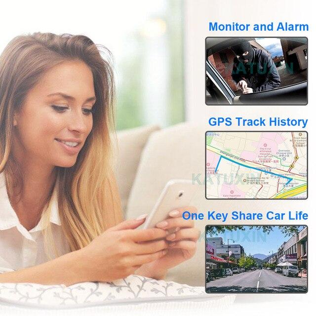 "KATUXIN 10"" Touch 4G ADAS Android 8.1 Mirror Dash Cam GPS Nav WIFI Bluetooth Streaming media Rear View Mirror DVR Recorder T991 5"
