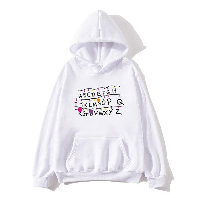 2020 new hoodie 26 English alphabet printed sweatshirts, trendy men's and women's plus size jackets, youth brand sweatshirts ABC