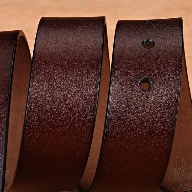Retro Pin Genuine Leather Men's Leisure Belt 6