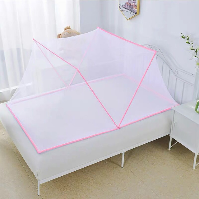Portable Mosquito Net Installation-free Foldable Student Bunk Breathable Netting Tent Mosquito Net Home Decor Mosquito Tent d1 1