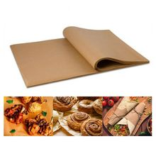 100 Pcs Baking Silicone Oil Non-stick Steamer Pot Pad Parchment Paper Rectangle Cake Pan Liners Baking Paper Cake Pans 12X16 In 500pcs round 1000pcs square steamed bun papers non stick household snack bread cake steamer oil paper pads