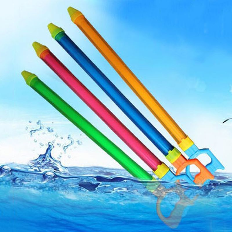 4 Pcs Water Gun Water Shooter Blaster Super Soaker For Kids Summer Pool Party Toys