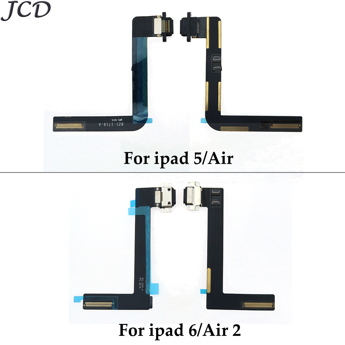 For iPad Air 2 Charge Port Connector Flex Cable For Repairing A+