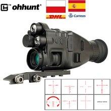 Отправка из Испании ohhunt прицел ночного видения Монокуляр