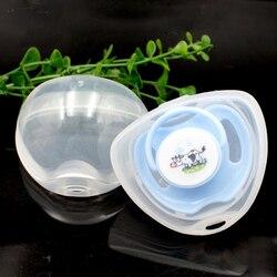 700 pièces infantile nouveau-né bébé sucette boîte mamelon bouclier étui porte-sucette Portable anti-poussière sucette boîte de rangement