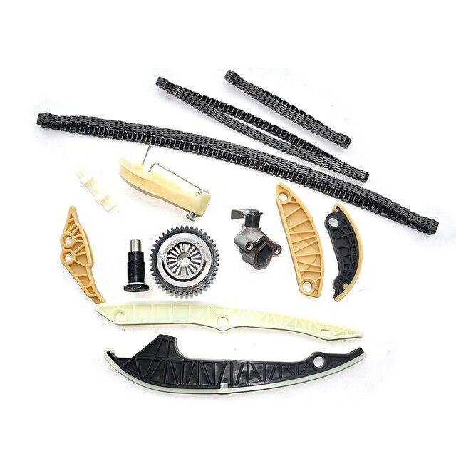 AP01 Timing Chain Kit (13 PCS)For Audi A3 A4 A5 A6 Q5 TT Allroad/VW Beetle EOS GTI Jetta Passat Tiguan CC Golf 1.8 2.0 TSI 5