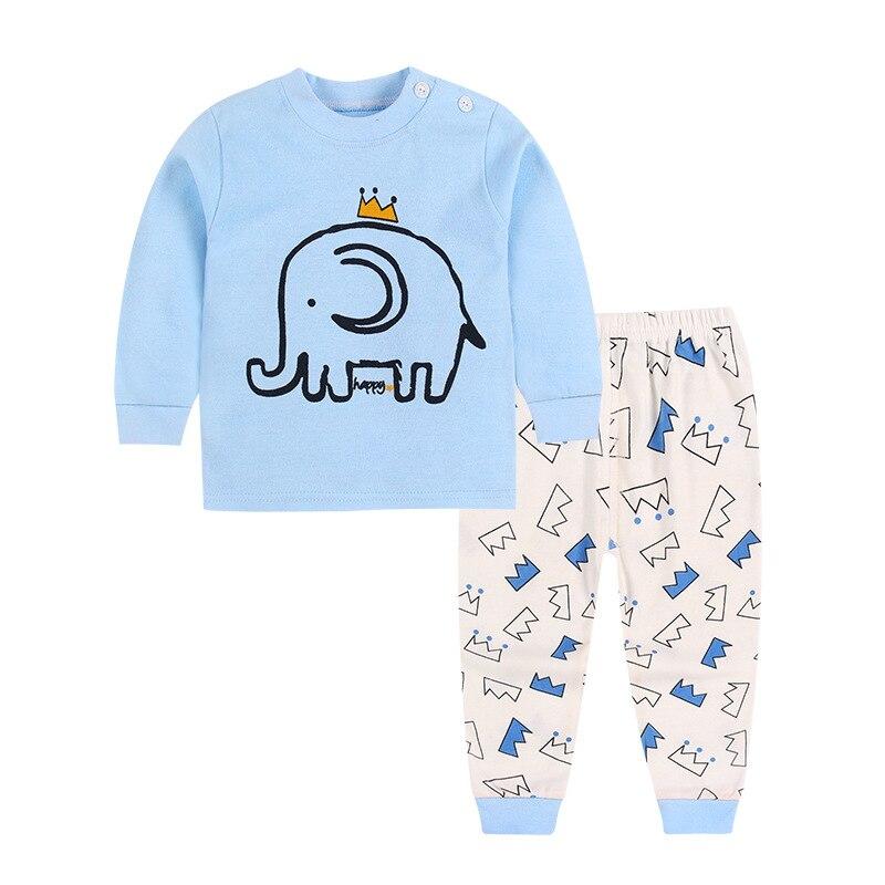 TUONXYE Children's Pajamas Kids Cartoon Lion Pajamas Set Baby Boys Long Sleeve Pyjamas Child Pijama Infantil Girls Night wear 4