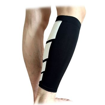 1pcs Men Compression Cycling Legwarmers Running Tights Leggings Sports Soccer Basketball Leg Sleeve Fitness Football Shinguard image