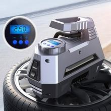 Tire-Pump Digital-Pressure-Gauge Air-Compressor-Tire Inflator-Car Portable 150-Psi