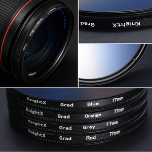 Image 2 - KnightX 24 color filter nd uv for nikon canon sony a6000 accessories eos lens photo dlsr d3200 a6500 49 52 55 58 62 67 72 77 mm