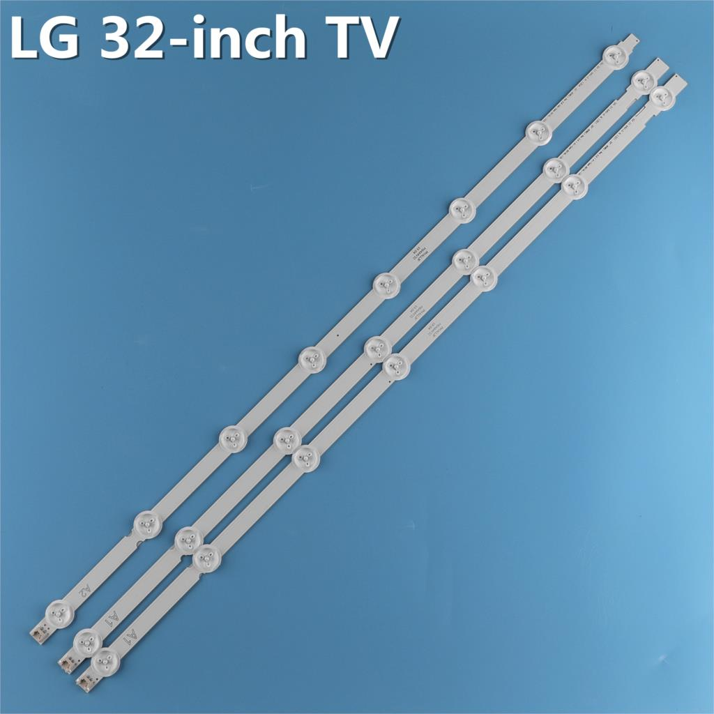100%NEW 3 PCS(2*A1*7LEDs,1*A2*8LEDs)LED Backlight Bar 32