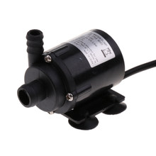 Dc 12V Mini 280L/H Motor Usb Waterpomp Geen Borstelloze Voor Pc Koelsysteem(China)