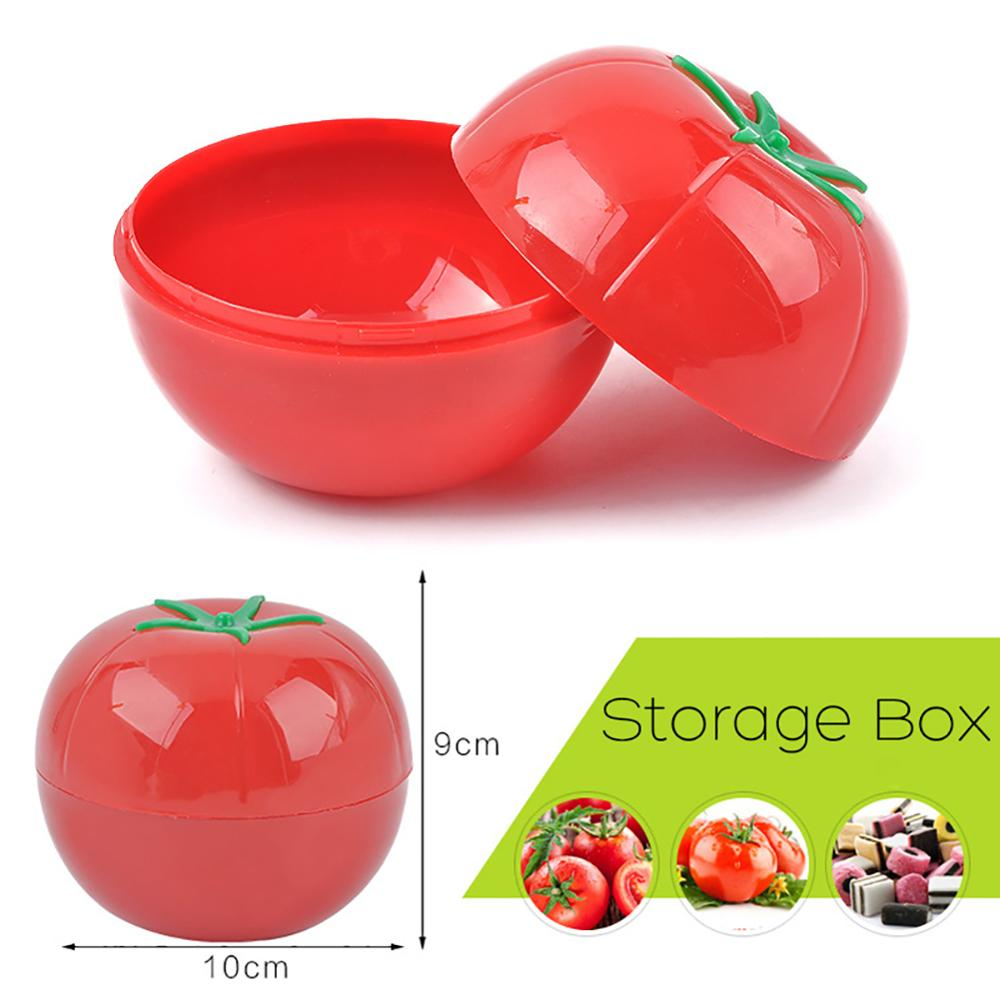 Fruit Vegetable Pepper Shape Storage Saver Box Food Containers Fresh Kitchen