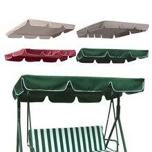 Verão à prova dwaterproof água cobertura superior dossel substituição para jardim pátio ao ar livre balanço cadeira rede dossel balanço cadeira toldo