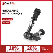 SmallRig Articulating Rosette Arm Max 7 Inches Long With Cold Shoe Mount And 1/4 20 Threaded Screw Adapter   1497