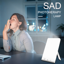 SAD Therapy Lamp 3 Modes 5V Light Seasonal Affective Disorder Phototherapy Lamps Touch USB SAD Therapy Lights for Depression