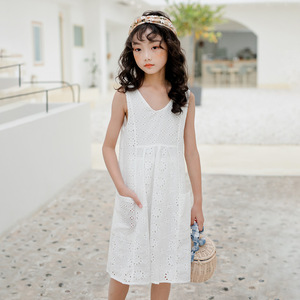 Image 4 - High Quality 2020 New Summer Style Girl Lace Dresses Girls Birthday Clothes 3 16Y Girls Party Dress Princess Clothes CC714